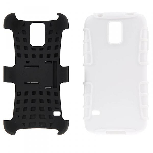 Hybrid case 2 piece SWL robot white for Samsung Galaxy S5