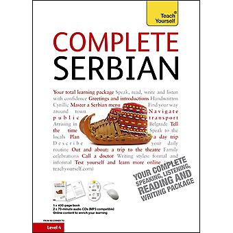 Complete Serbian Beginner to Intermediate Course: (Book and audio support) Learn to read write speak and understand a new language with Teach Yourself (Paperback) by Ribnikar Vladislava Norris David