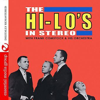 Hi / Lo van / Frank Comstock & His Orchestra - Hi-Lo's in Stereo [CD] USA import