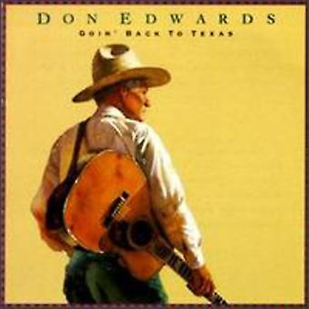 Don Edwards - Goin' Back to Texas [CD] USA import