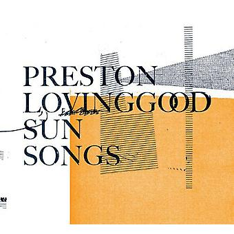 Preston Lovinggood - Sun Songs [Vinyl] USA import
