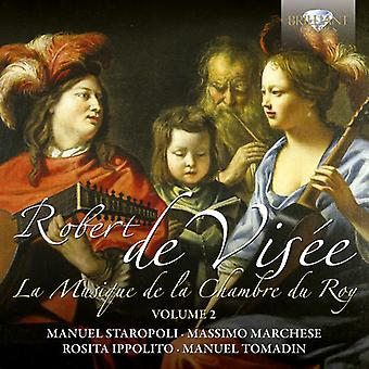 R. de Visee - Robert Di Vis E: La Musique De La Chambre Du Roy, import USA Vol. 2 [CD]