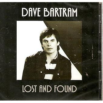 Dave Bartram - Lost & Found [CD] USA import