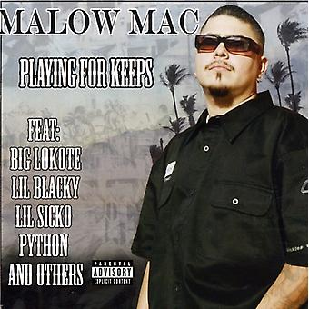 Malow Mac - spiller for holder [CD] USA import
