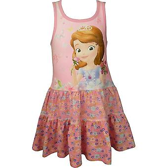 Girls Disney Princess Sofia The First Summer Sleeveless Dress