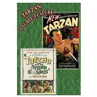 Importación de nuevas aventuras de Tarzán (1935) / Tarzán y los E.e.u.u. verde [DVD]