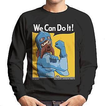 Protect The Valley Nausicaa of the Valley of the Wind Men's Sweatshirt