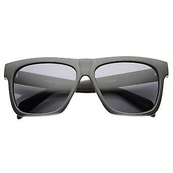 Vlakke Top kwadraat-Off gehoornde Rim zonnebril
