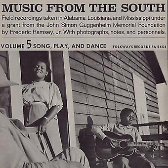 Musica dal sud - Music From the South: importazione di Play & Dance [CD] USA 5-canzone Vol.