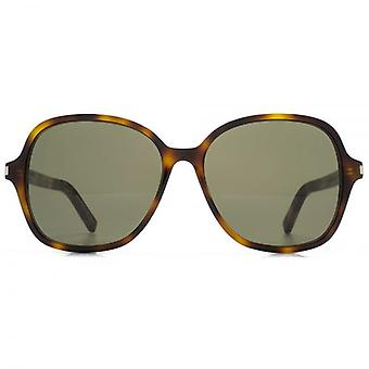 Occhiali da sole Saint Laurent Classic 8 In Havana verde