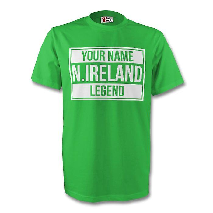Your Name Northern Ireland Legend Tee (green)