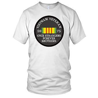 Vietnam War Veteran 59-75 Once Strangers Clean Effect Kids T Shirt