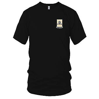 US Army - 27th Quartermaster Regiment Embroidered Patch - Ladies T Shirt