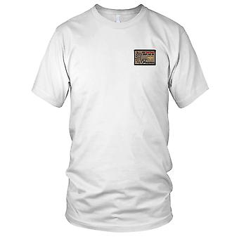 Een bedrijf 2916e Aviation Battalion woestijn Hawks geborduurd Patch - haak en lus dames T Shirt