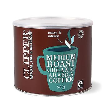 Clipper, Arabica Roast Medium Coffee, 500g