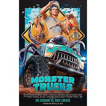 Monster Trucks Movie Poster (11 x 17)