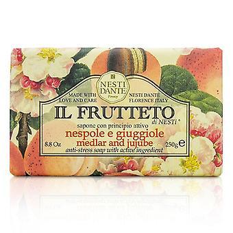 Nesti Dante Il Frutteto Anti-Stress Soap - Medlar & Jujube - 250g/8.8oz
