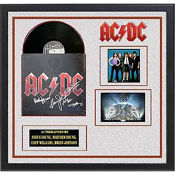AC/DC - Black Ice - Signed Album