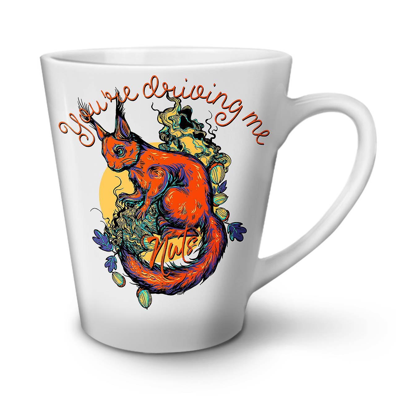 Noix En Tasse OzWellcoda Café Rend Nouvelle Céramique 12 Latte Me Blanche 3TFJlK1uc