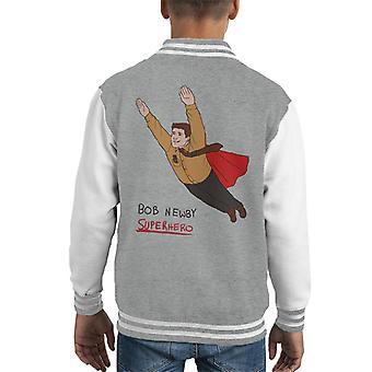 Bob Newby Superhero Stranger Things Kid's Varsity Jacket