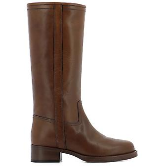 ETRO women's 134472817150 brown leather boots