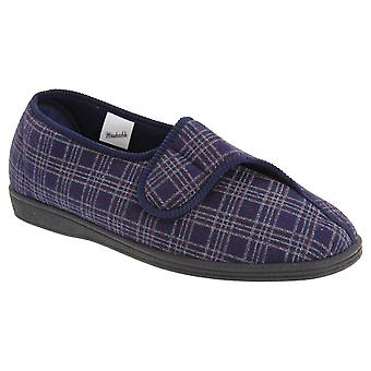 Sleepers Mens Julian II Wide Fitting Slippers