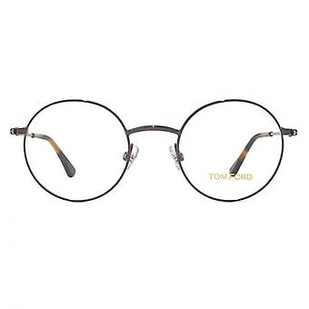 Tom Ford FT5503 bril In glanzende Gunmetal