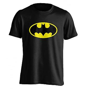 DC Comics Mens Batman Logo T Shirt