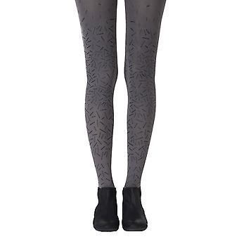Zohara ZOF399-GB Women's Party Starter grå mote Tights