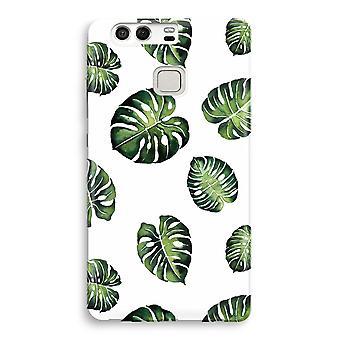 Huawei P9 imprimir completo caso - hojas tropicales