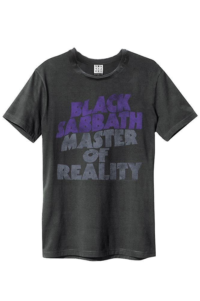 Amplified Black Sabbath Master Of Reality Mens T-Shirt