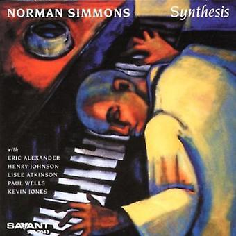 Norman Simmons - syntese [CD] USA import