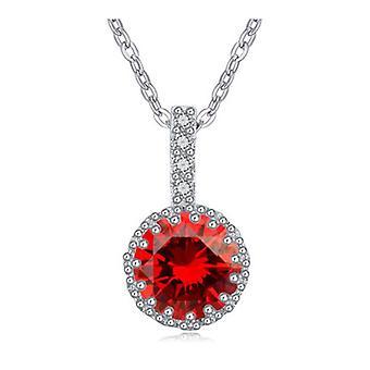 Red Ruby hängsmycke halsband