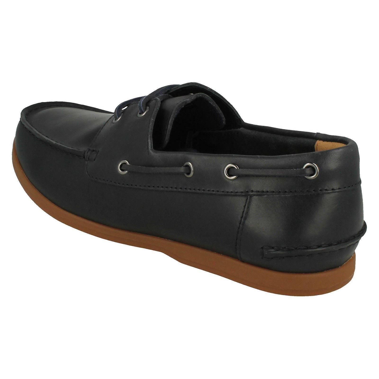 look out for professional design noveldesign Mens Clarks Lace Up Boat Shoes Morven Sail