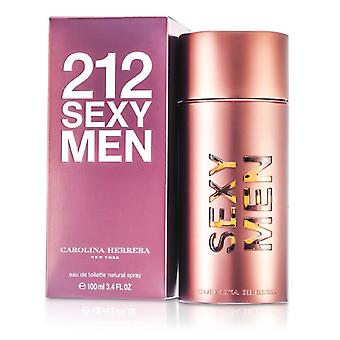 Carolina Herrera 212 Sexy Men Eau De Toilette Spray 100ml / 3.4 oz