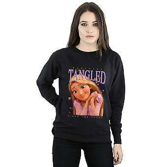 Disney vrouwen de verwarde Rapunzel Montage Sweatshirt