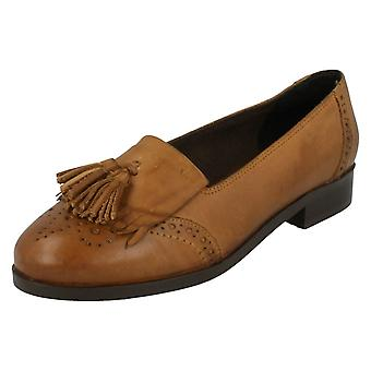 Ladies Leather Collection Loafers F80181