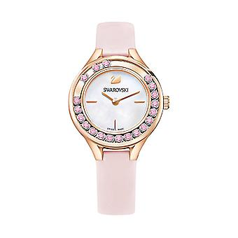 Swarovski Lovely Crystals Mini Leather Ladies Watch  5376089