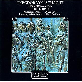 T.V. Schacht - Schacht: Clarinet Concertos [CD] USA import