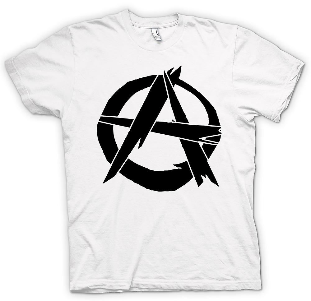 Womens T-shirt - Anarchy - Punk