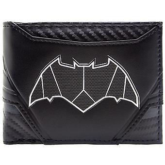 DC Batman Carbon Suit Style ID & Card Bi-Fold Wallet