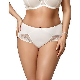 Gorsenia K426 Women's Casablanca Cream Knicker Panty Full Brief