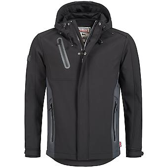 Lonsdale mens transition jacket Isington Softshell