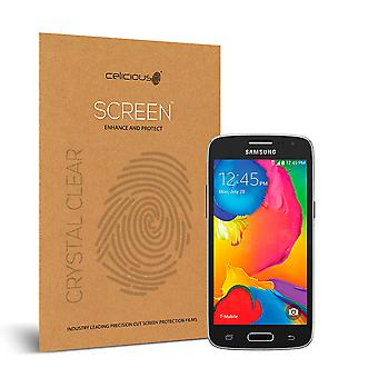 Celicious Vivid Invisible Glossy HD Screen Protector Film Compatible with Samsung Galaxy Avant [Pack of 2]