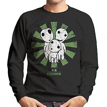 Kodama Retro Japanese Men's Sweatshirt