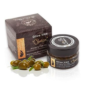 Oliventræ kaviar ansigtsmaske, anti-ageing og hydrerende 65 ml.