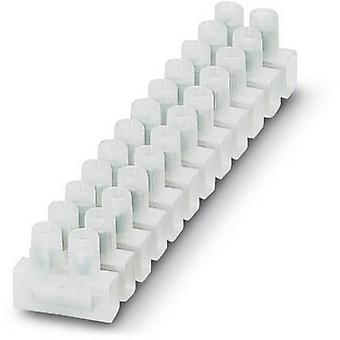 Phoenix Contact 3240171 Screw terminal flexible: 0.75-4 mm² rigid: 0.75-1.5 mm² Number of pins: 12 10 pc(s) White