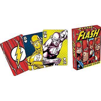 The Flash Dc Comics Set Of 52 Playing Cards (+ Jokers)