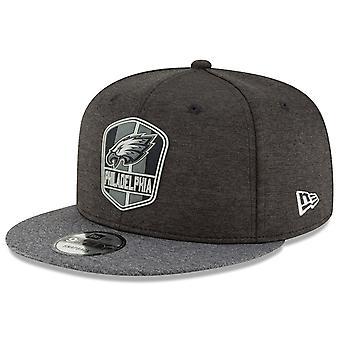 New Era Snapback Cap - Black Sideline Philadelphia Eagles