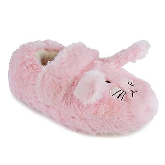 SlumberzzZ Girls Sleeping Sheep Design Novelty Slip On Slippers